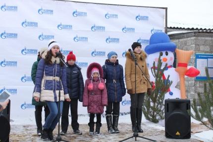 Торжественный пуск газа по случаю завершения газификации посёлка Солнце Цильнинского района Ульяновской области